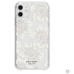 Kate Spade Clear Floral iPhone 11/XR  Case ✨🌸